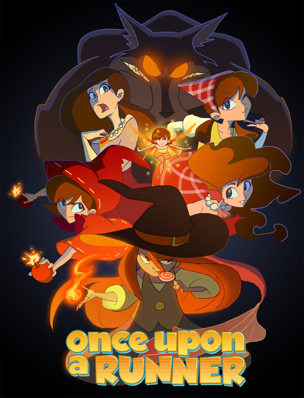 Once Upon a Runner poster